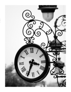reloj ornamental
