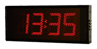 Reloj digital industrial